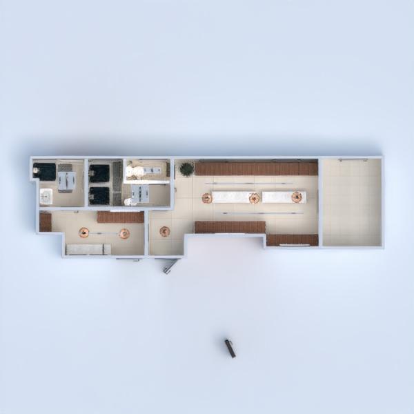 floorplans furniture bathroom office studio 3d