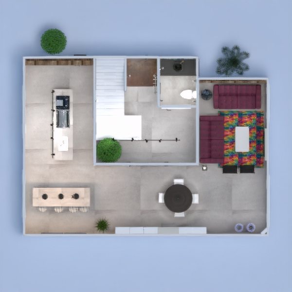 floorplans apartment furniture decor diy bathroom kitchen lighting household cafe dining room architecture entryway 3d