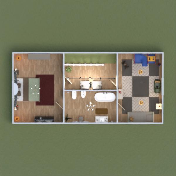 floorplans house terrace furniture decor bedroom garage kitchen kids room lighting household dining room architecture 3d