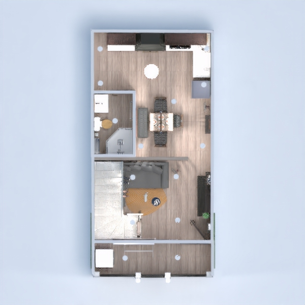 floorplans casa bricolaje cuarto de baño dormitorio salón 3d
