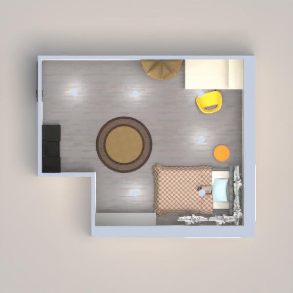 floorplans furniture bedroom kids room 3d