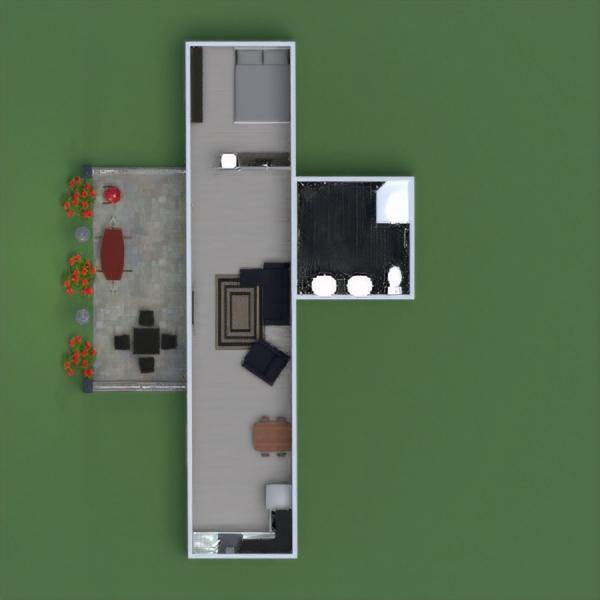 floorplans casa muebles bricolaje exterior paisaje 3d