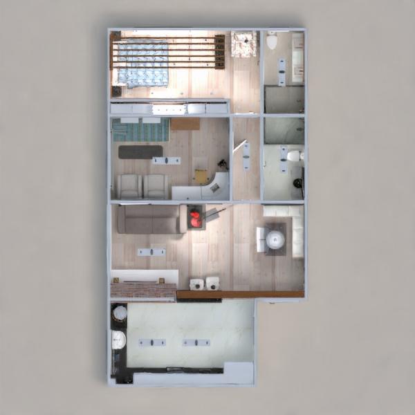 floorplans wohnung mobiliar dekor schlafzimmer wohnzimmer küche büro beleuchtung haushalt café esszimmer architektur lagerraum, abstellraum eingang 3d