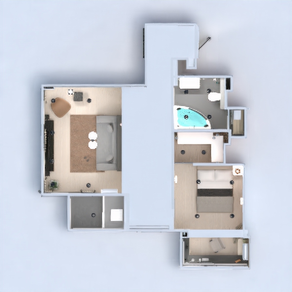 floorplans apartment furniture decor bathroom bedroom living room kitchen lighting renovation household storage studio entryway 3d