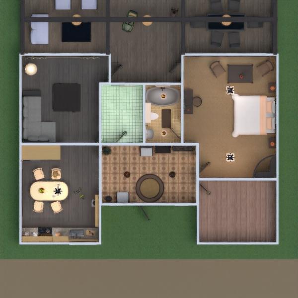 floorplans haus terrasse mobiliar badezimmer schlafzimmer küche beleuchtung renovierung 3d