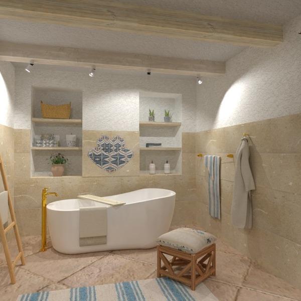 floorplans namas vonia miegamasis virtuvė eksterjeras 3d