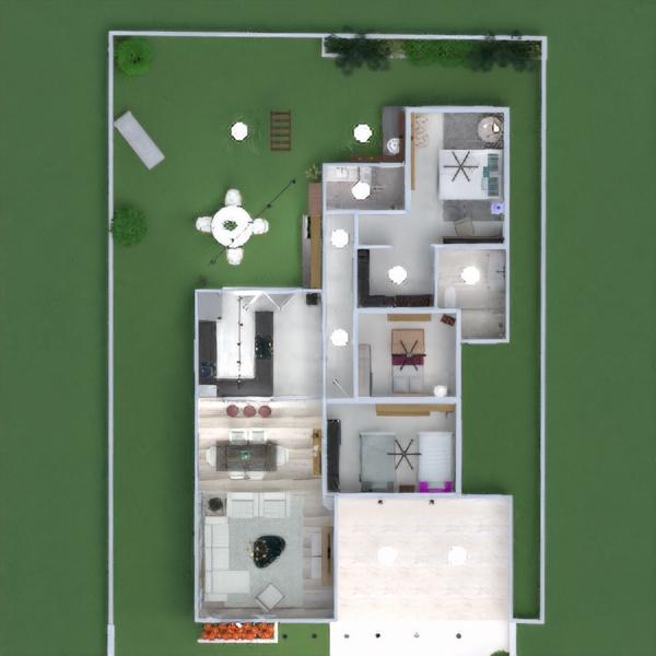 floorplans haus terrasse mobiliar dekor schlafzimmer küche beleuchtung landschaft architektur eingang 3d
