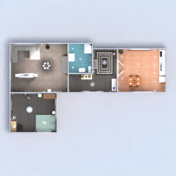 floorplans apartamento muebles decoración bricolaje cuarto de baño dormitorio salón cocina iluminación reforma hogar cafetería comedor descansillo 3d