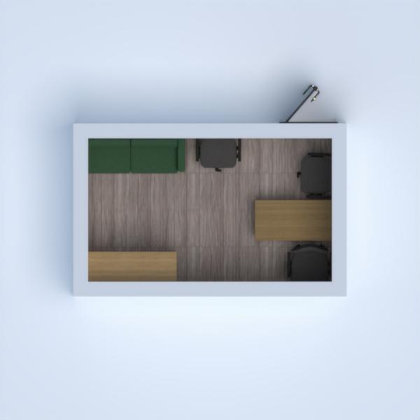 floorplans escritório estúdio 3d