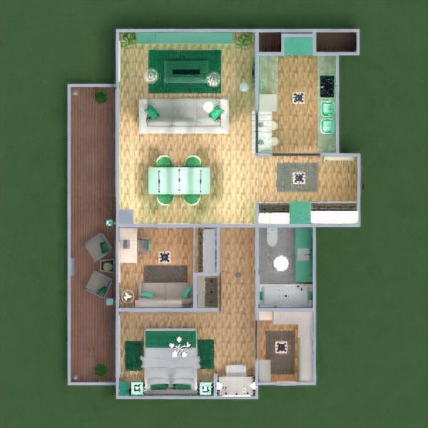 floorplans área externa quarto infantil cafeterias estúdio 3d