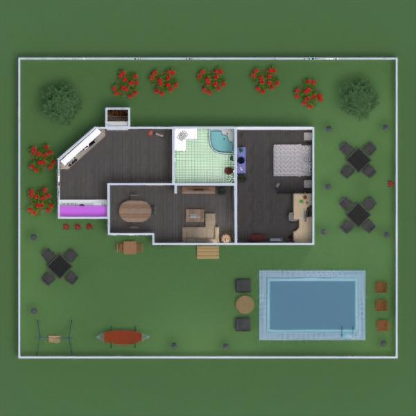 floorplans haus mobiliar badezimmer schlafzimmer wohnzimmer küche outdoor büro haushalt esszimmer lagerraum, abstellraum studio 3d