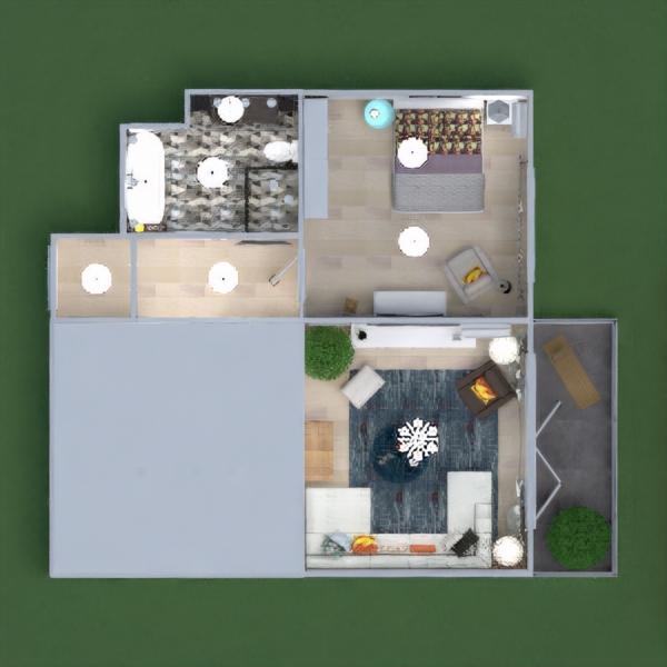 floorplans квартира мебель декор ванная спальня гостиная кухня освещение техника для дома кафе столовая архитектура хранение прихожая 3d