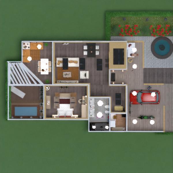 floorplans casa veranda arredamento decorazioni angolo fai-da-te saggiorno garage cucina esterno illuminazione rinnovo paesaggio famiglia sala pranzo architettura vano scale 3d