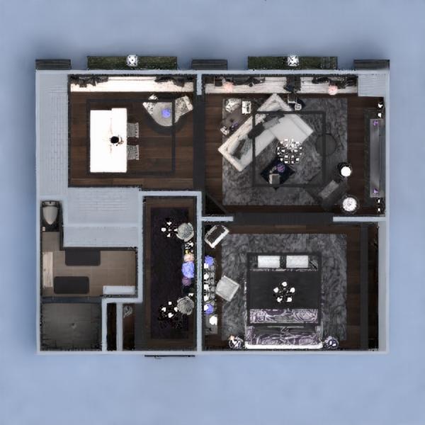 floorplans квартира мебель декор спальня гостиная столовая архитектура хранение прихожая 3d