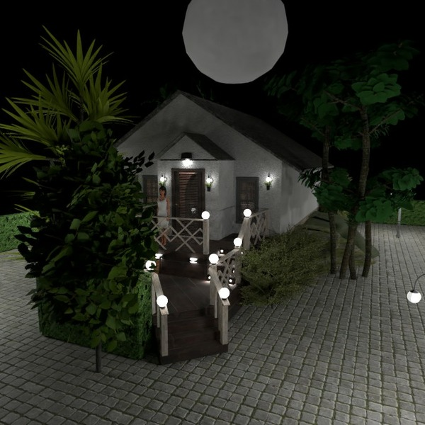 floorplans house furniture outdoor lighting 3d
