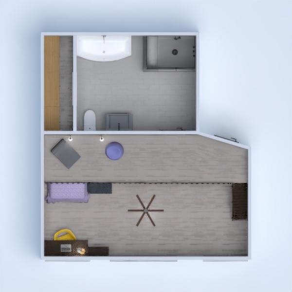 планировки ванная спальня детская 3d