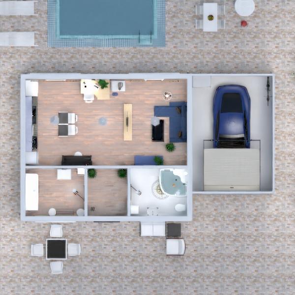 floorplans dom taras wystrój wnętrz krajobraz architektura 3d