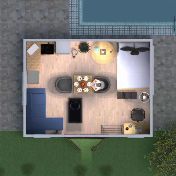 floorplans meubles diy chambre à coucher bureau 3d