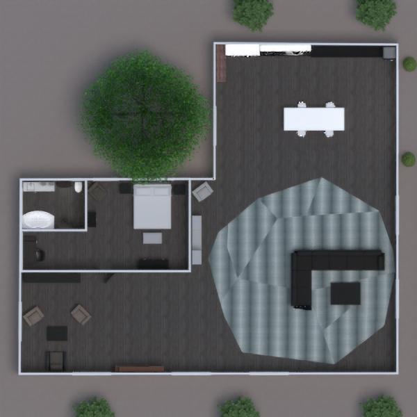 floorplans cuarto de baño dormitorio cocina trastero estudio 3d