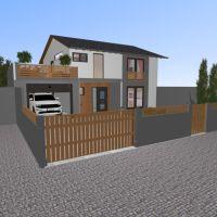floorplans butas namas vonia miegamasis svetainė vaikų kambarys kraštovaizdis аrchitektūra 3d