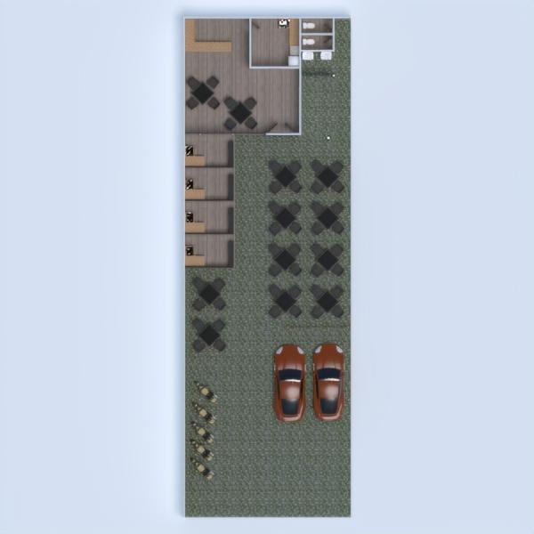 планировки кухня улица кафе 3d