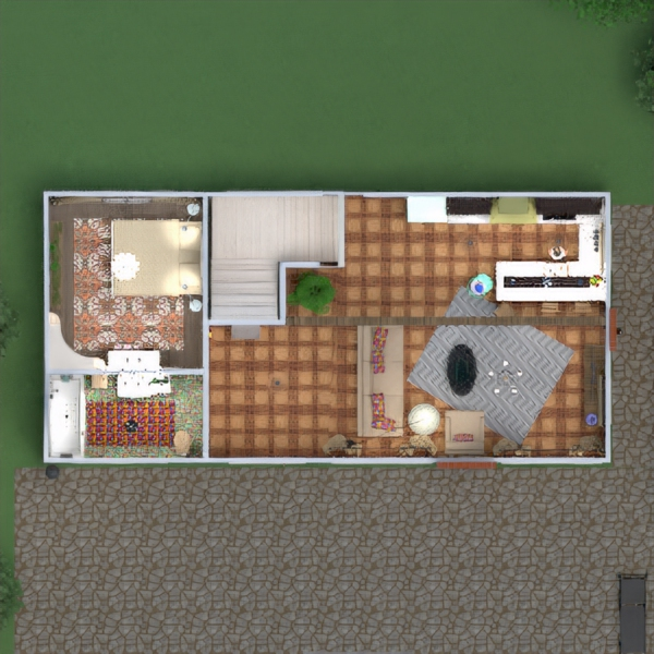 floorplans дом терраса мебель декор сделай сам ванная спальня гостиная кухня улица освещение ремонт ландшафтный дизайн техника для дома столовая архитектура хранение прихожая 3d