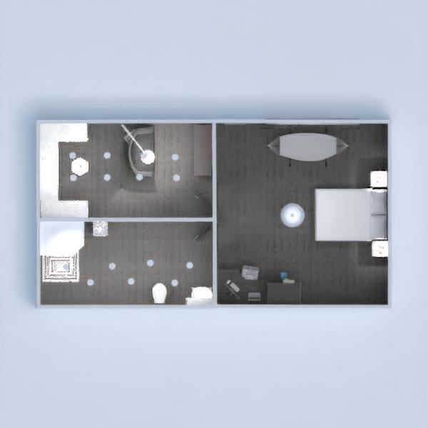 floorplans dekoras vonia miegamasis vaikų kambarys biuras 3d