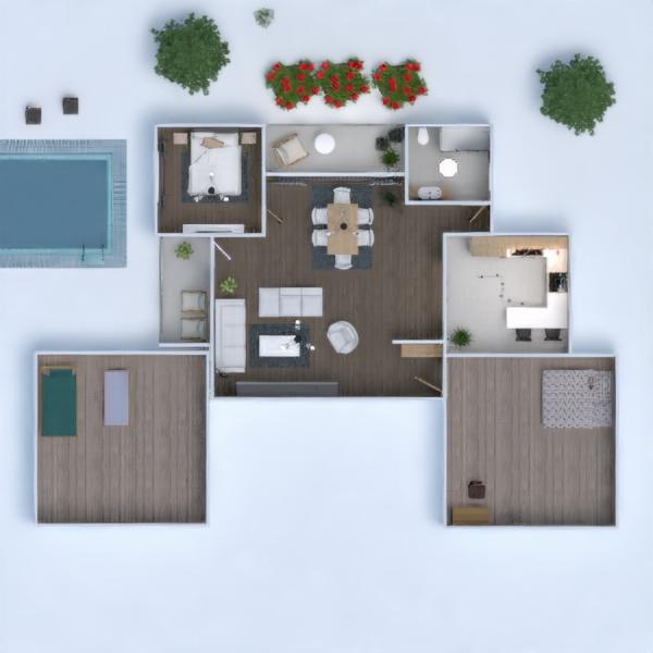 floorplans casa faça você mesmo casa de banho dormitório quarto 3d