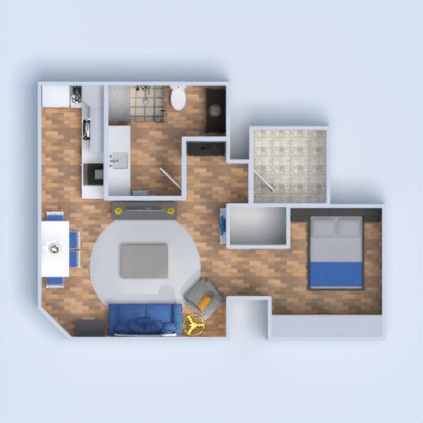 floorplans apartamento decoración bricolaje arquitectura 3d