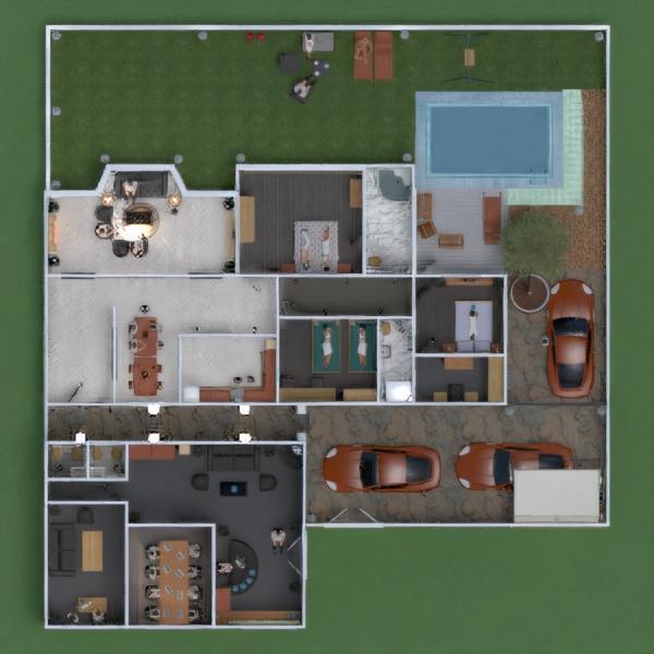 progetti studio illuminazione paesaggio architettura vano scale 3d