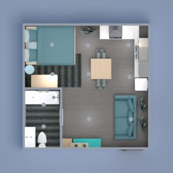 floorplans wohnung mobiliar dekor studio 3d