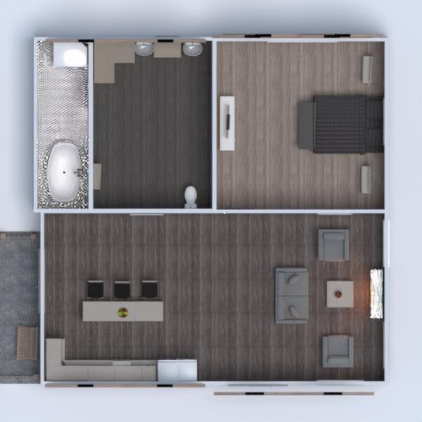 floorplans casa decoración cuarto de baño dormitorio exterior 3d