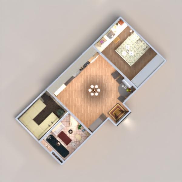 floorplans mieszkanie meble wystrój wnętrz łazienka sypialnia pokój dzienny kuchnia oświetlenie remont gospodarstwo domowe jadalnia przechowywanie mieszkanie typu studio wejście 3d