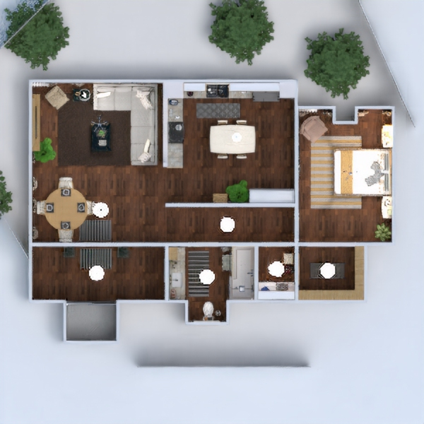 floorplans apartment furniture decor diy bathroom bedroom kitchen household cafe dining room architecture storage entryway 3d