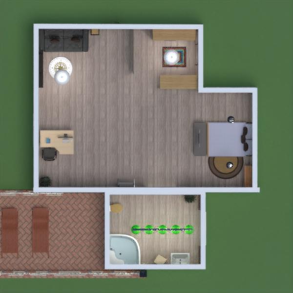 floorplans camera da letto 3d