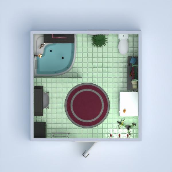 floorplans wohnung haus dekor badezimmer beleuchtung architektur lagerraum, abstellraum 3d