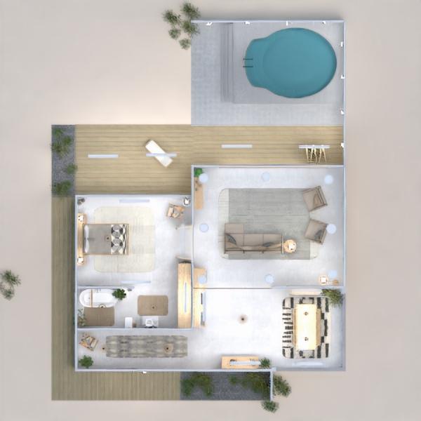 progetti casa veranda oggetti esterni illuminazione architettura 3d