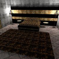 floorplans apartment furniture decor bedroom lighting architecture 3d