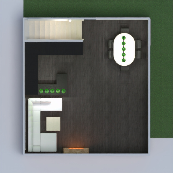 floorplans virtuvė 3d