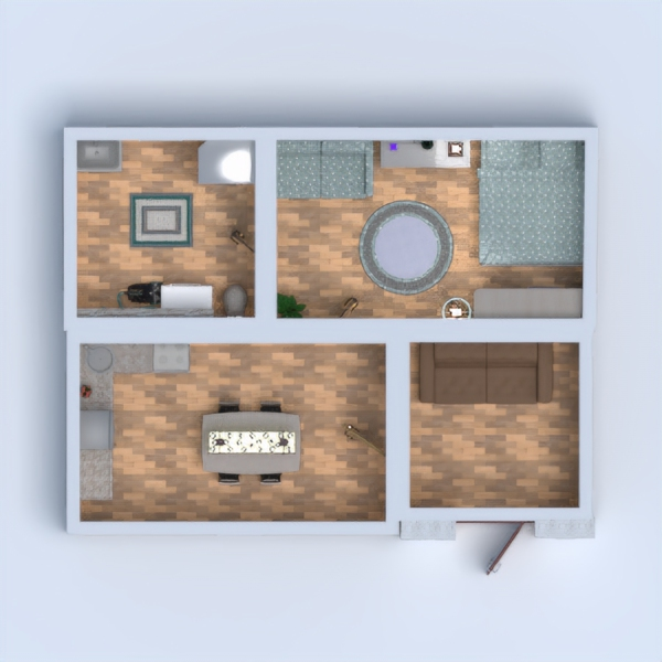 floorplans apartment decor bathroom bedroom living room 3d
