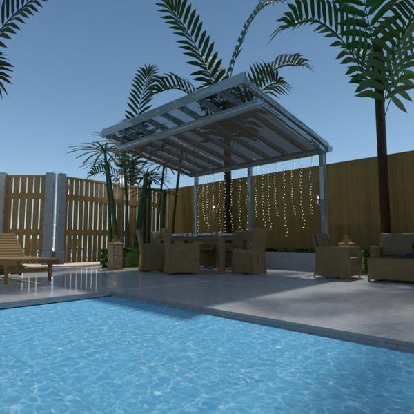 floorplans dom meble wystrój wnętrz na zewnątrz krajobraz 3d