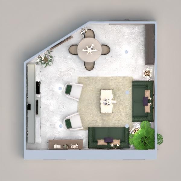 floorplans dom meble kuchnia oświetlenie architektura 3d