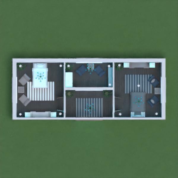 floorplans casa dormitório iluminação 3d