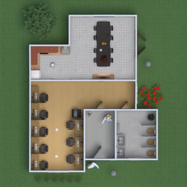 floorplans salle de bains salon bureau rénovation studio 3d