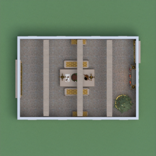 floorplans salle à manger architecture 3d