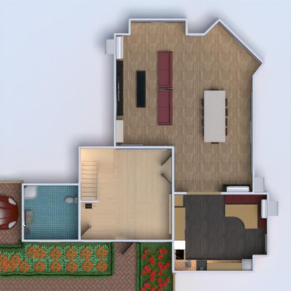 floorplans haus terrasse mobiliar dekor badezimmer schlafzimmer küche outdoor beleuchtung renovierung landschaft haushalt 3d