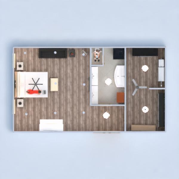 floorplans спальня 3d