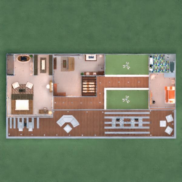 планировки дом мебель декор гостиная освещение 3d