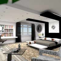 floorplans furniture bedroom lighting architecture 3d