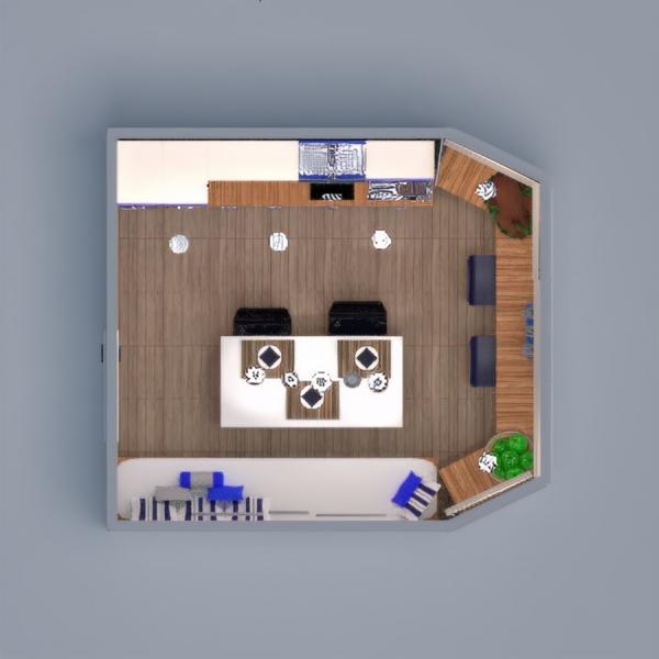 floorplans meble wystrój wnętrz zrób to sam kuchnia oświetlenie jadalnia przechowywanie 3d